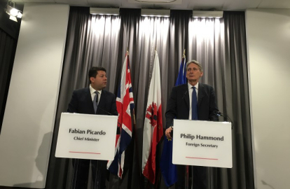 Picardo is 'one of the good guys' in tax transparency drive – Hammond