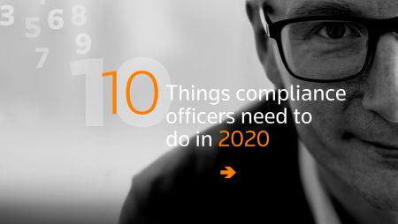 Ten things compliance officers need to do in 2020 (Thomson Reuters' Webinar)